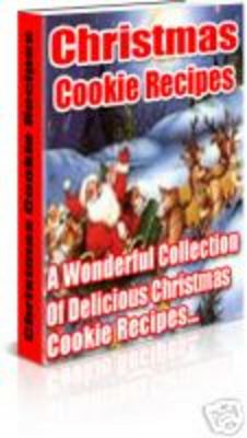 Product picture 400 Christmas Cookie Recipes
