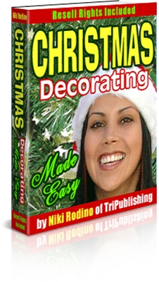 Product picture Christmas Decorating Made Easy.MRR