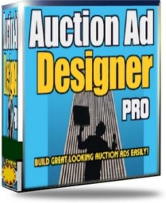 Product picture Auction Ad Designer Pro - MRR