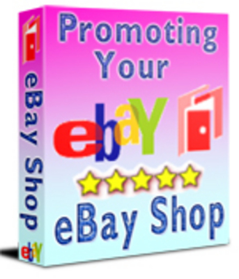 Product picture Promoting Your ebay Shop eBook.RR