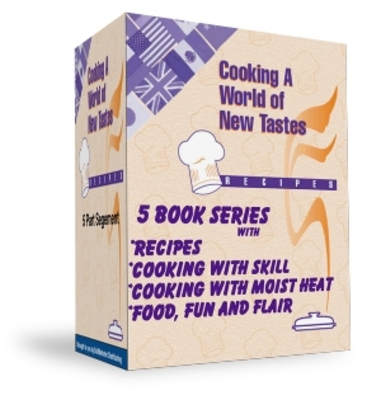 Product picture Cooking a World of New Tastes - 5 Ebook Series.MRR